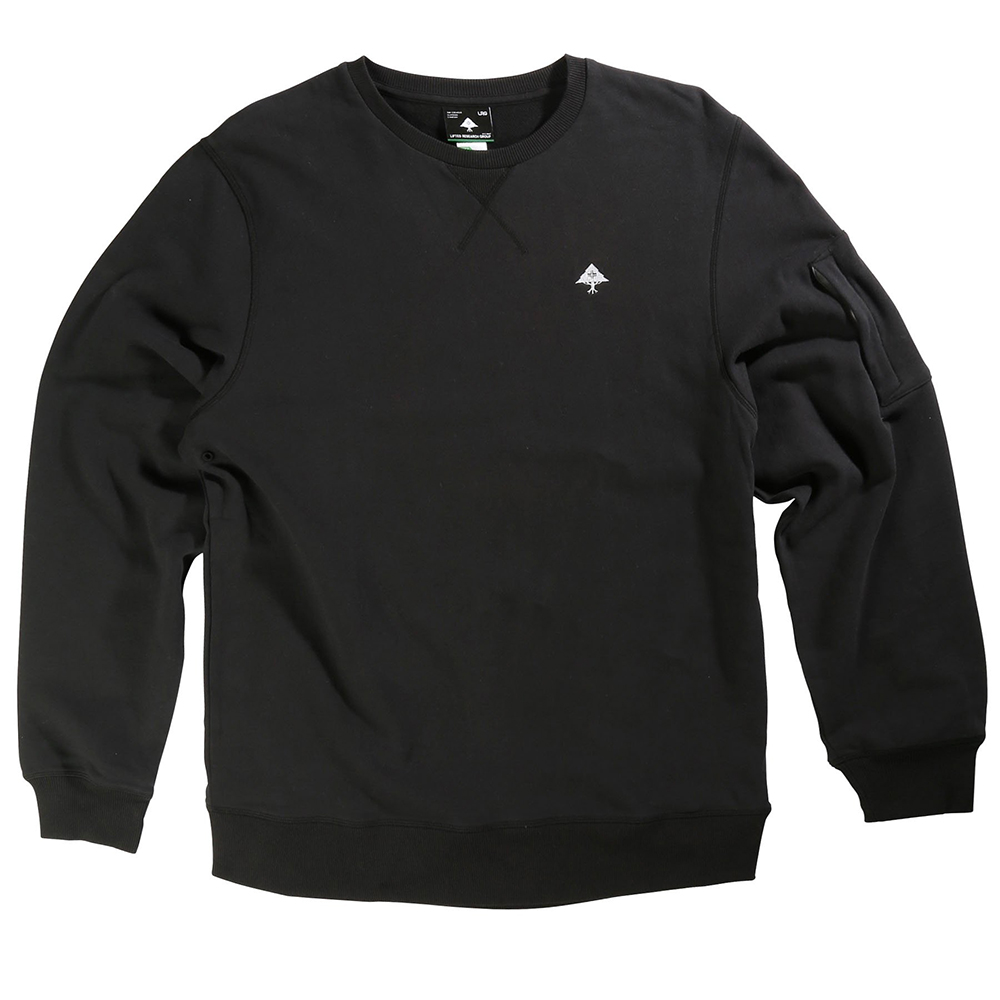 "RC CREWNECK ""BLACK"""