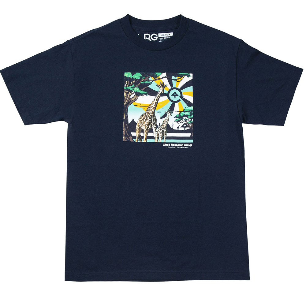 "MOTHERLAND CYCLE TEE ""NAVY"""