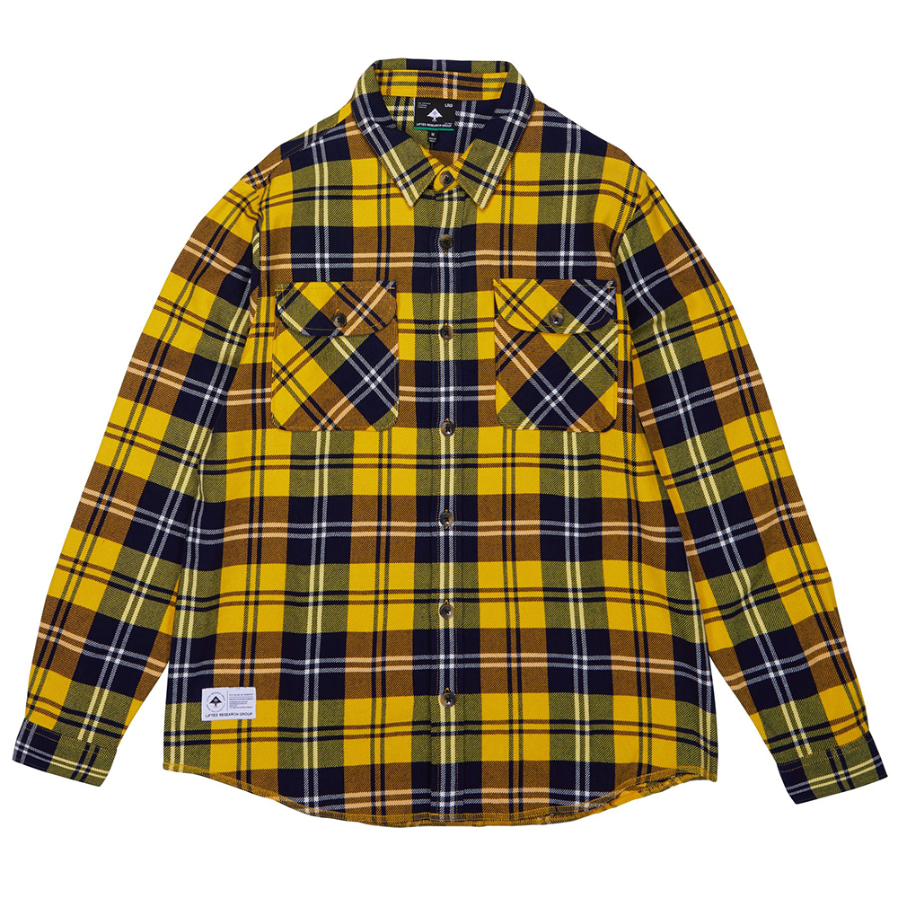 INDEX FLANNEL / YELLOW