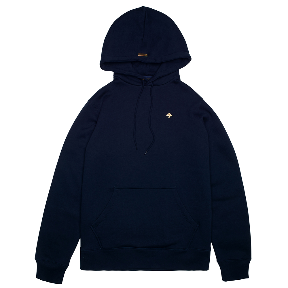 NOTHING BUT GOLD HOODIE / NAVY BLAZER