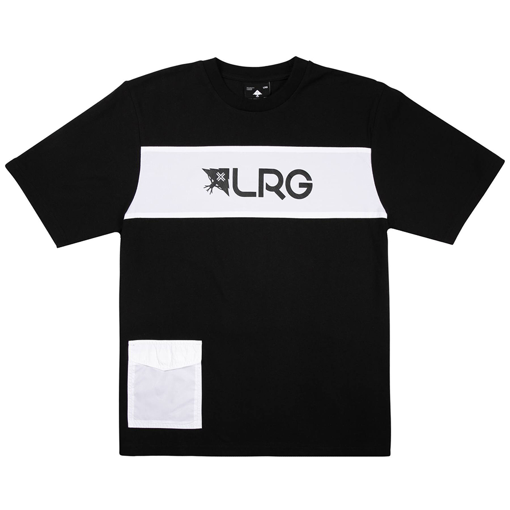 RIP AND STOP SS CREW TEE / BLACK