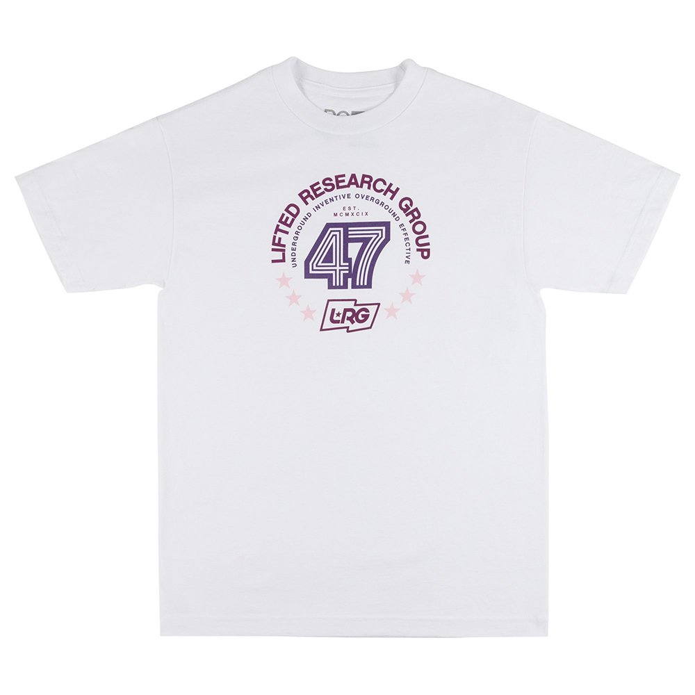 LIFTED 47 TEE / WHITE
