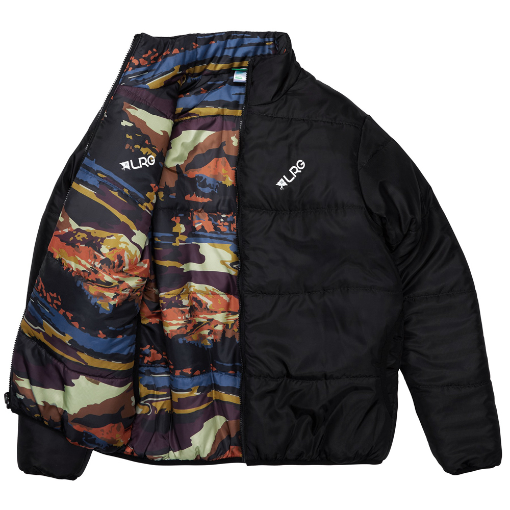 ALPINE DIVINE REVERSIBLE JACKET / BLACK