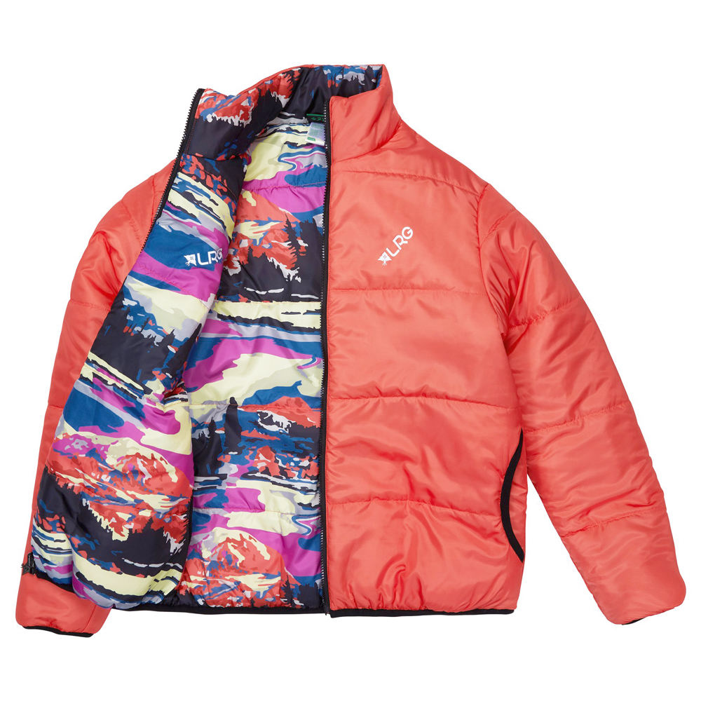 ALPINE DIVINE REVERSIBLE JACKET / PEACH ECHO