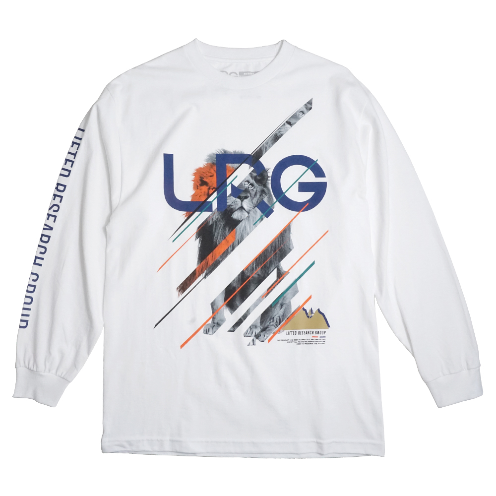 "KING OF NATURE LONG SLEEVE TEE ""WHITE"""