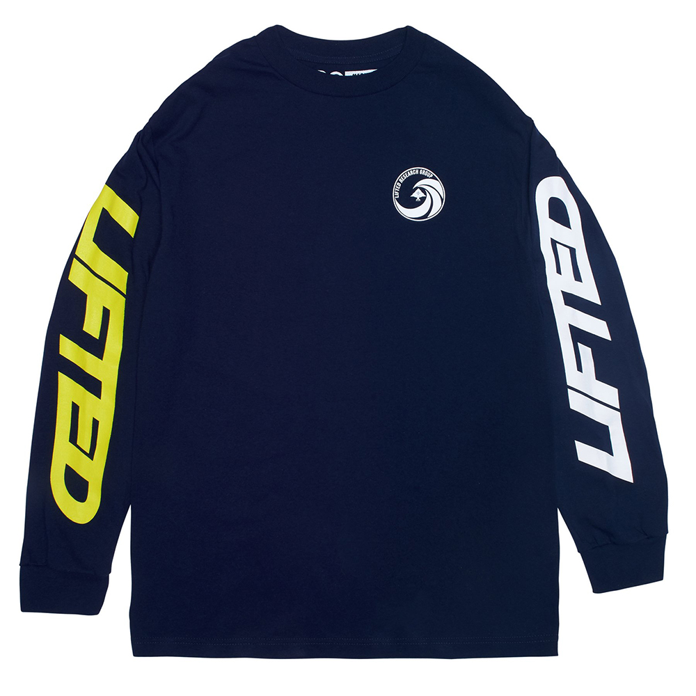 FORWARD L/S TEE / NAVY