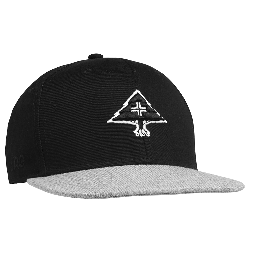 3D TREE LOGO SNAPBACK HAT / BLACK
