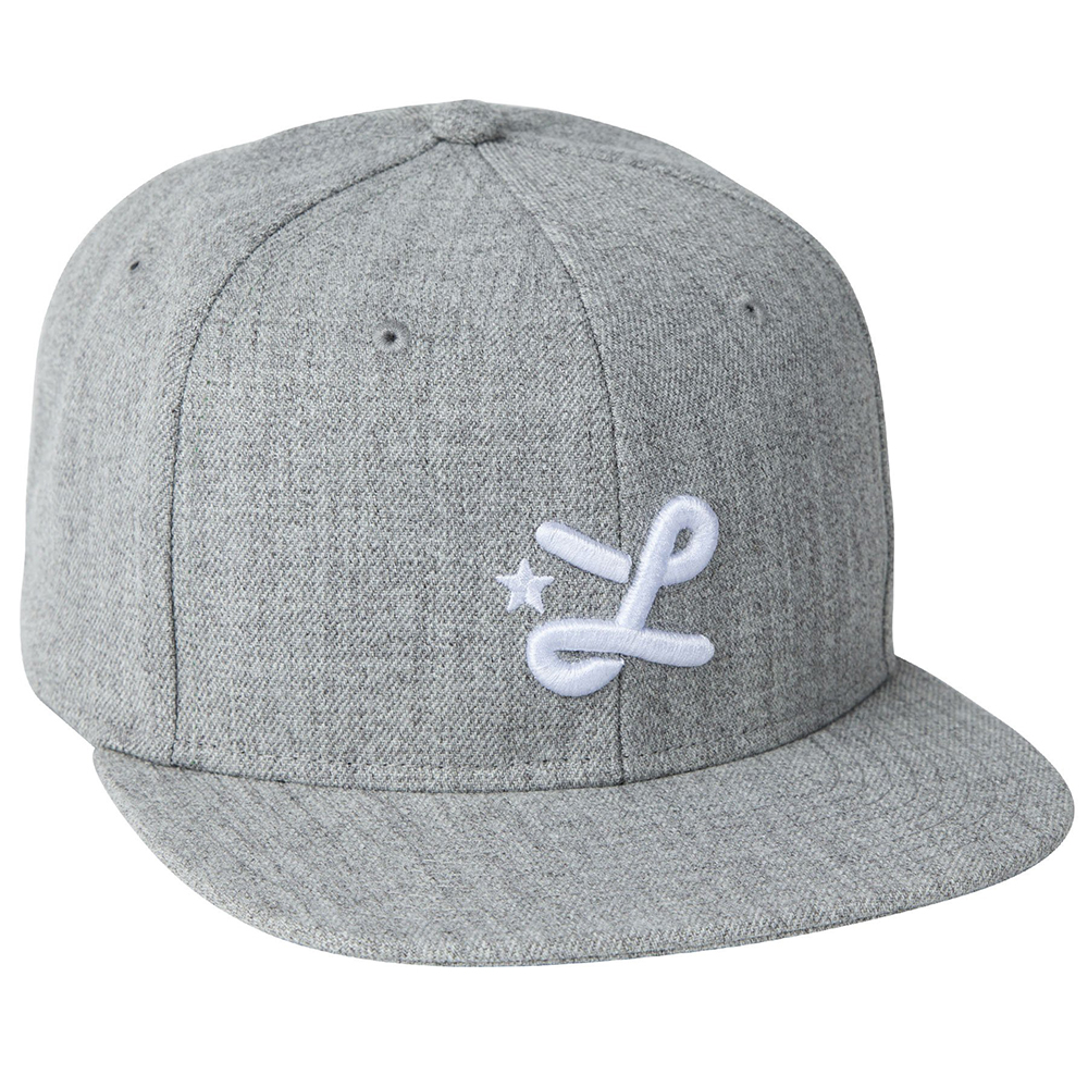 LIL SNAPBACK HAT / ASH HEATHER