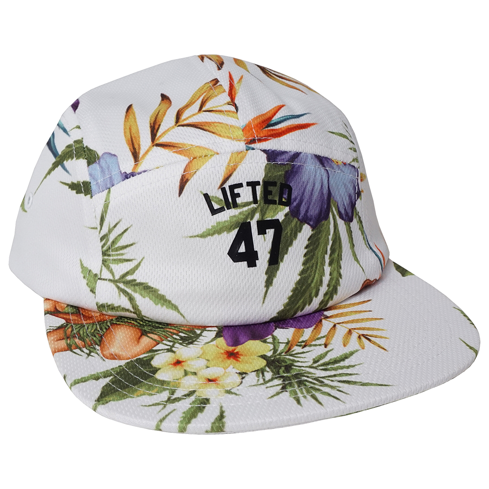 STRANGE DAYS 5 PANEL HAT / BRIGHT WHITE