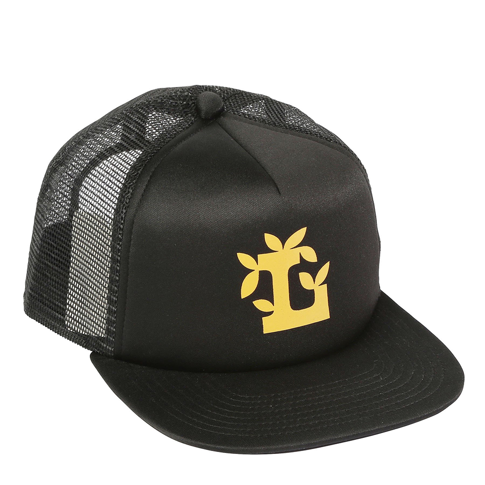 "LEAF L TRUCKER HAT ""BLACK"""