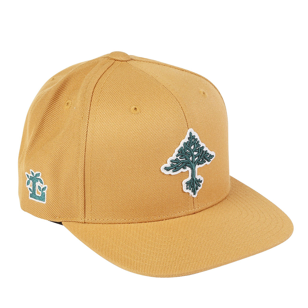 "GROW TREES SNAPBACK HAT ""GOLDEN SPICE"""
