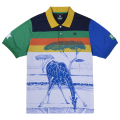 GIRAFFE STRIPE POLO / MULTI