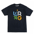 "LRG TREE STACK TEE ""NAVY"""