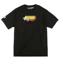 "CHEETAH PAYLAY TEE ""BLACK"""