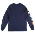 "UNITED NATIONS LS TEE ""NAVY"""