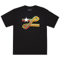 SPECTRUM RIBBON TEE / BLACK