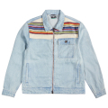 EARTH LESSONS DENIM JACKET / BLEACH WASH