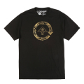 GOLD CYCLE FLOURISH TEE / BLACK