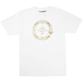 GOLD CYCLE FLOURISH TEE / WHITE