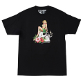 "DEATH BY TROPICS TEE ""BLACK"""