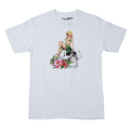 "DEATH BY TROPICS TEE ""WHITE"""