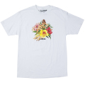 "HULA GIRL TEE ""WHITE"""
