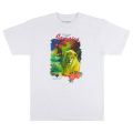 JAMAICAN GREETINGS TEE / WHITE