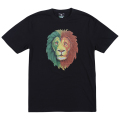 RASTA LION TEE / BLACK