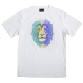 RASTA LION TEE / WHITE