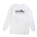 "CULTIVATORS LS TEE ""WHITE"""