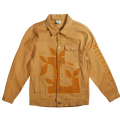 "LEAF L TWILL JACKET ""GOLDEN BROWN"""