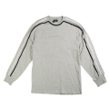 "INSIDE OUT BACKWARDS LONG SLEEVE KNIT ""ASH HEATHER"""