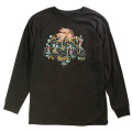 "EARTH LESSONS LS TEE ""BLACK"""