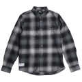 "INTERFERENCE FLANNEL ""BLACK"""