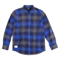 "INTERFERENCE FLANNEL ""MAZARINE BLUE"""