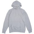 """NOTHING BUT GOLD HOODIE """"ASH HEATHER"""""""