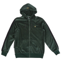 "METHOD FULL ZIP HOODIE ""DARK SPRUCE"""