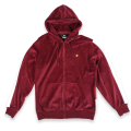 "METHOD FULL ZIP HOODIE ""ZINFANDEL"""
