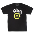 CYCLE LOGO 2 TEE / BLACK/GREEN