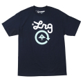 "CYCLE LOGO 2 TEE ""NAVY"""