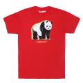 WAVY PANDA TEE / RED