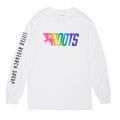 TRUE ROOTS L/S TEE / WHITE