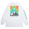 SPECTRUM MOUNTAIN LS TEE / WHITE