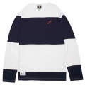 ALTERNATE LS CREW / WHITE/NAVY