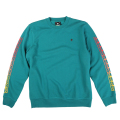 "SUN BURST CREWNECK SWEATER ""GREEN"""