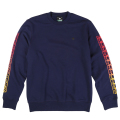 "SUN BURST CREWNECK SWEATER ""NAVY"""