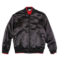 "NATURAL GEO BOMBER JACKET ""BLACK"""