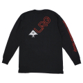 LRG SLANT LONG SLEEVE TEE / BLACK