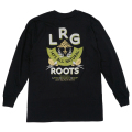 NATURAL ROOTS LS TEE / BLACK