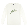SQUARED SCRIPT THERMAL LS TEE / CREAM